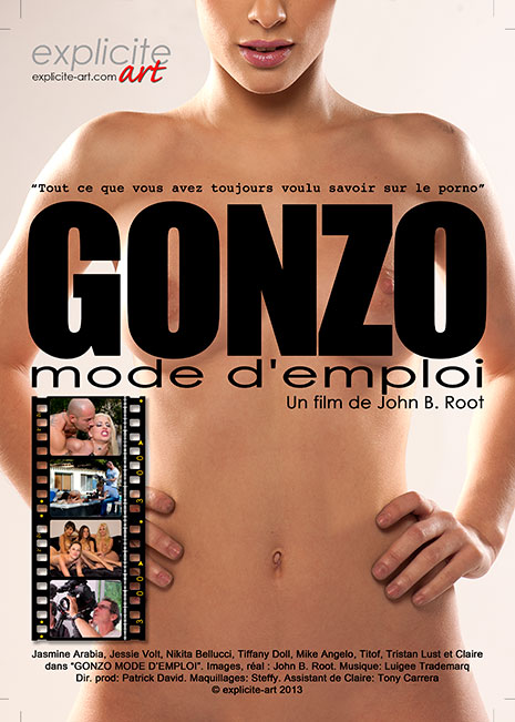 Gonzo mode d'emploi french porn movie