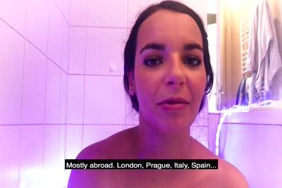 interview et le reportage vidéo sur le shoot photo de Sophia Laure 5