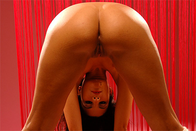 Amandine is a French stripper and she gets naked for you