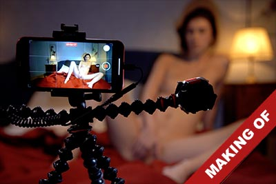 Video of the making of the porn film Sexo