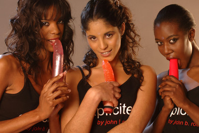 Pics of the black French girls playing with dildos and pissing