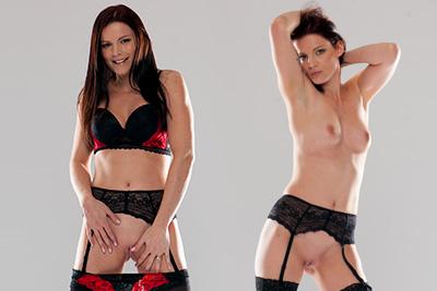 Les photos de la belle Laure Vallentin nue en studio pour la première fois