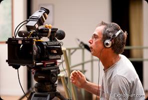 john b root en tournage 1